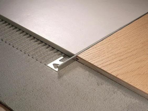 Как сделать красивый переход плитки в паркет: подборка дизайнерских идей