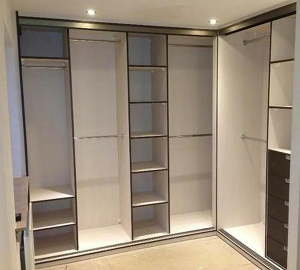 Угловой шкаф-купе в спальню. 12 важных особенностей выбора и дизайна