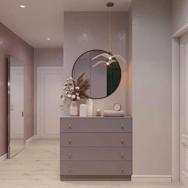 Этюд в пастельных тонах: оцениваем проект однокомнатной квартиры