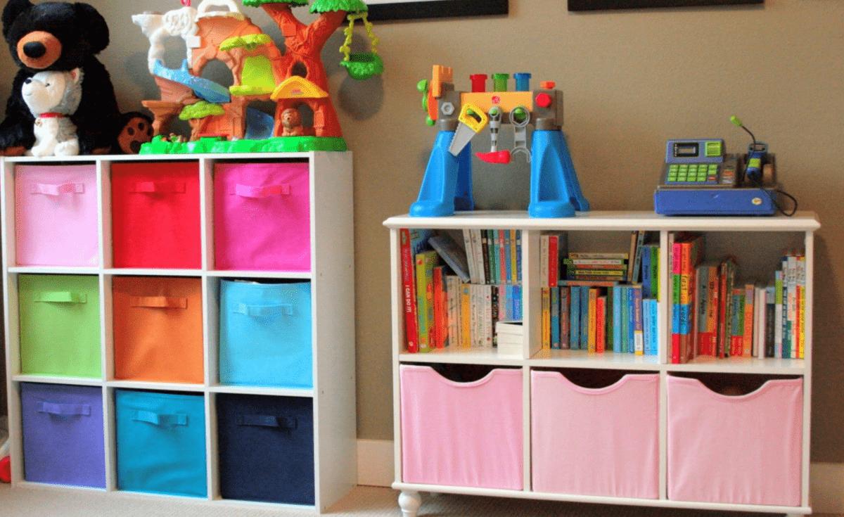 Системы хранения для детской комнаты: рекомендации по выбору