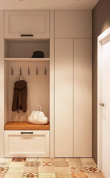 Прихожая для узкого коридора. 17 рекомендаций по выбору и дизайну