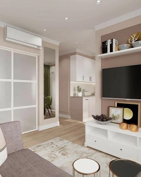5 маленьких квартир, которые разделили перегородками (красиво и правильно!)