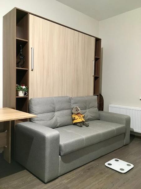 Оптимальное спальное место в квартире-студии