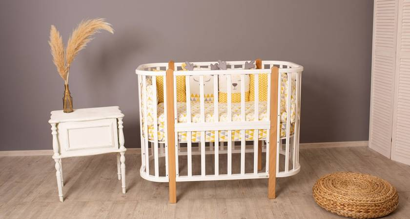 Как выбрать детскую кроватку для новорожденного