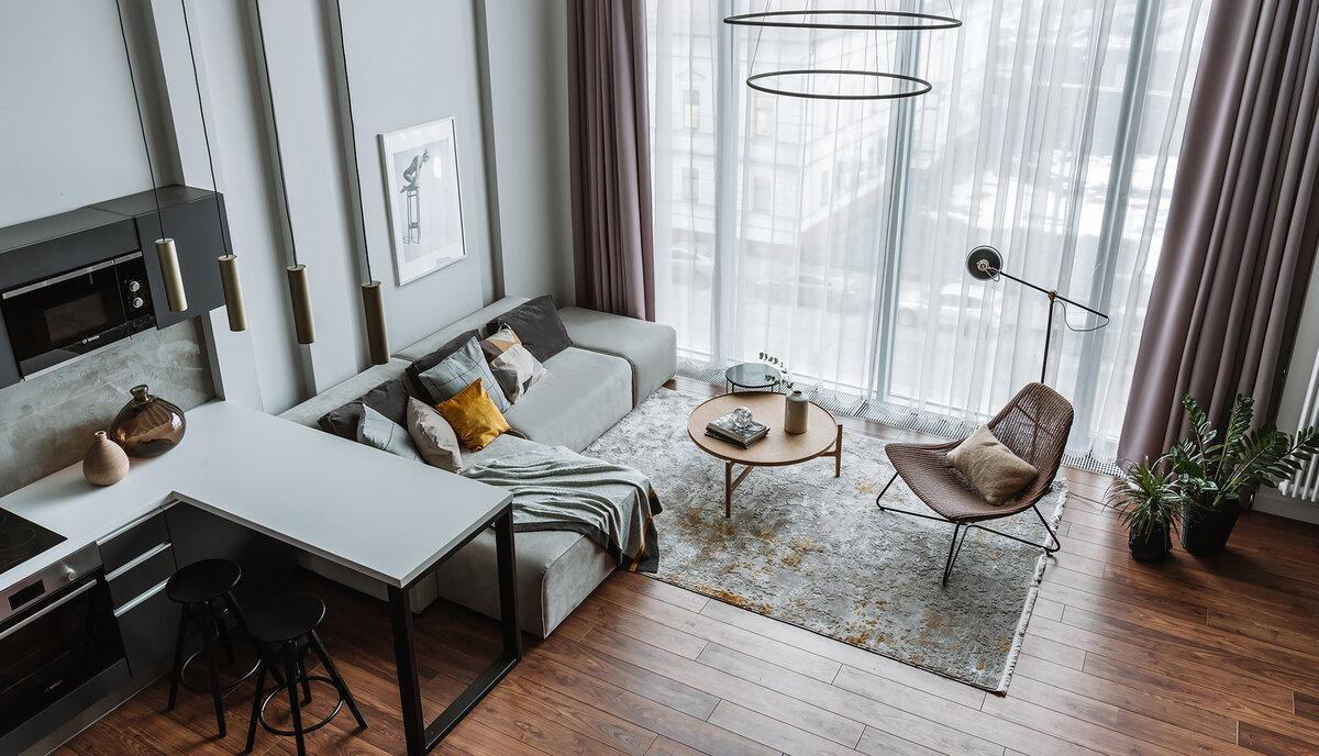 Дизайн маленькой гостиной: 65 примеров