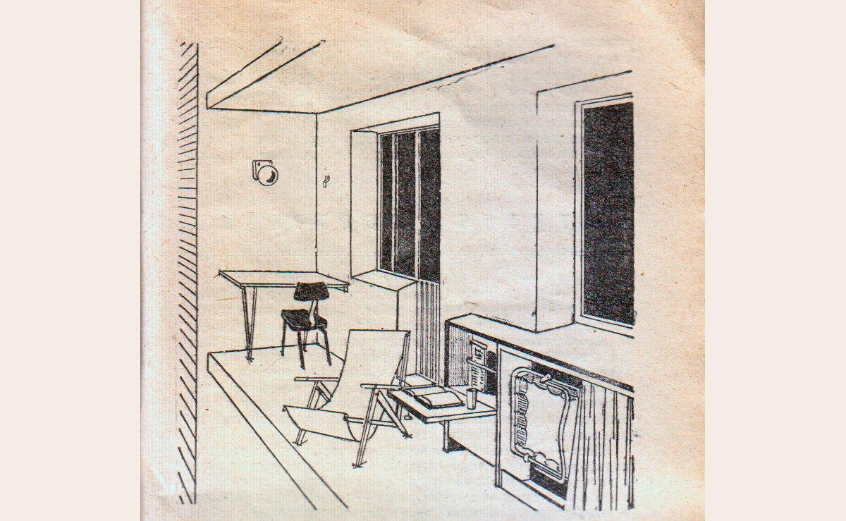 Лоджия и балкон. Советы из 1970 года