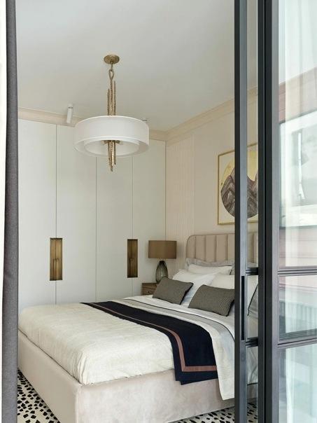 Квартира с универсальной планировкой в Москве, 45 м²