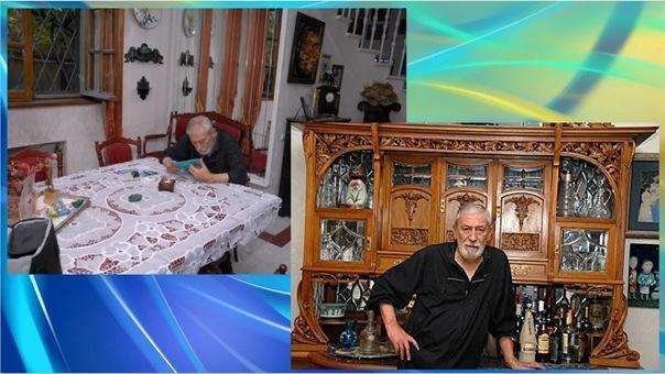 Где живет Вахтанг Кикабидзе на пенсии: трехэтажный особняк в центре Тбилиси с огромной гостиной на первом этаже