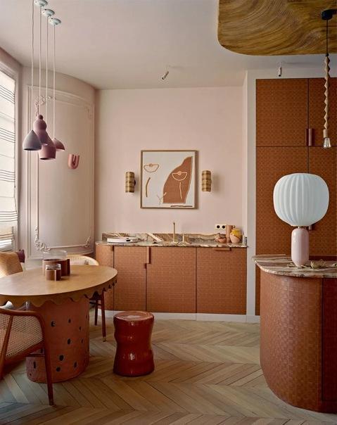 Квартира дизайнера Анн-Софи Пайере в Париже