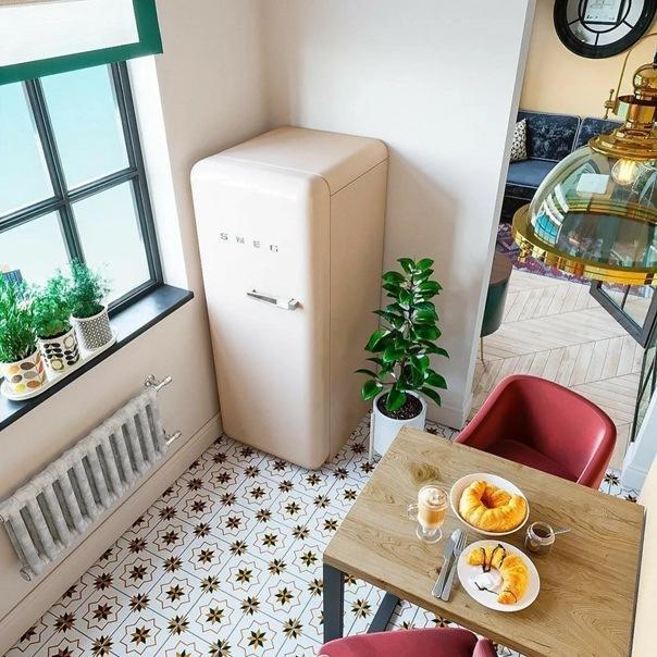 Куда поставить холодильник: 6 подходящих мест в квартире (не только кухня)