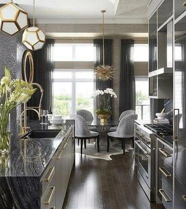 Стильная кухня-гостиная: 3 секрета дизайнера