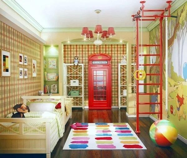 Дизайн детской, который понравится вашим детям