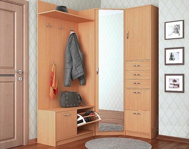 Угловой шкаф в прихожую. 17 особенностей и рекомендаций по дизайну
