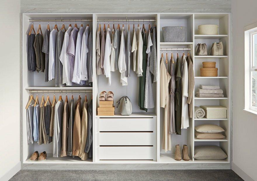 Шкаф в спальню. 19 особенностей и рекомендаций по выбору и дизайну
