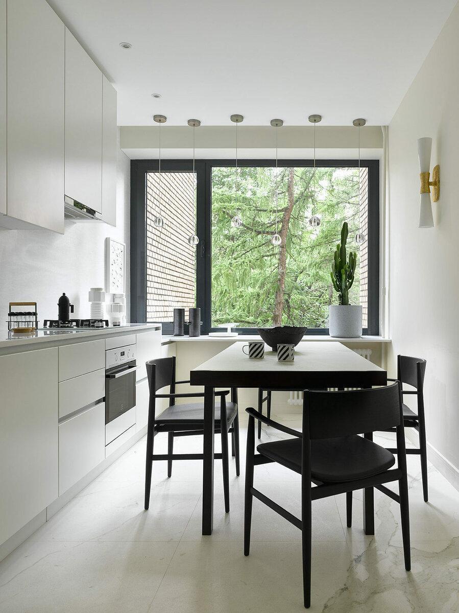 Как оформить кухню в скандинавском стиле: 7 дизайнерских примеров