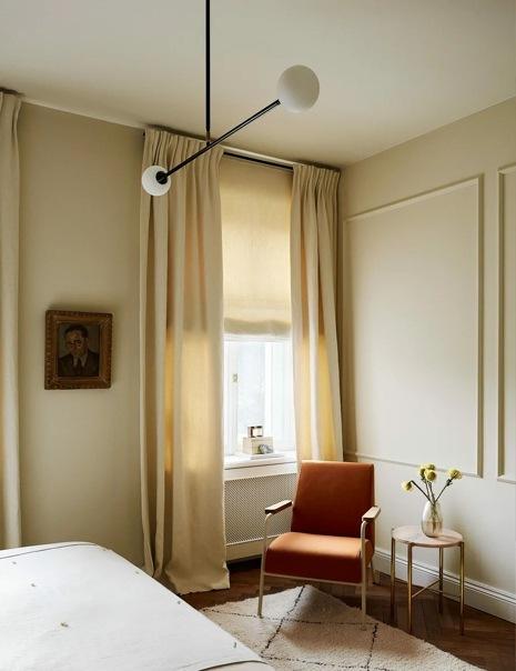 Квартира в теплых тонах