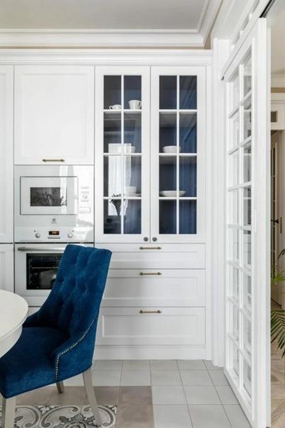 Квартира для мамы. Красивый, неповторимый интерьер в классическом стиле, который хочется рассматривать