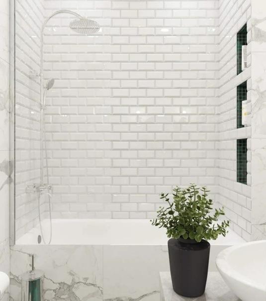 65 кв.м. свободной планировки превратили в комфортное жильё с элегантным интерьером