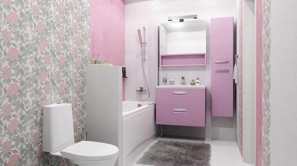 Чем можно отделать ванную кроме плитки: 6 удачных вариантов