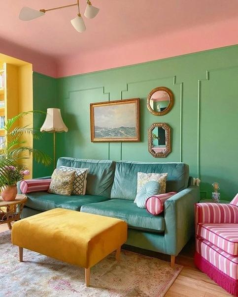 5 крутых цветовых сочетаний, которыми уже вовсю пользуются западные дизайнеры
