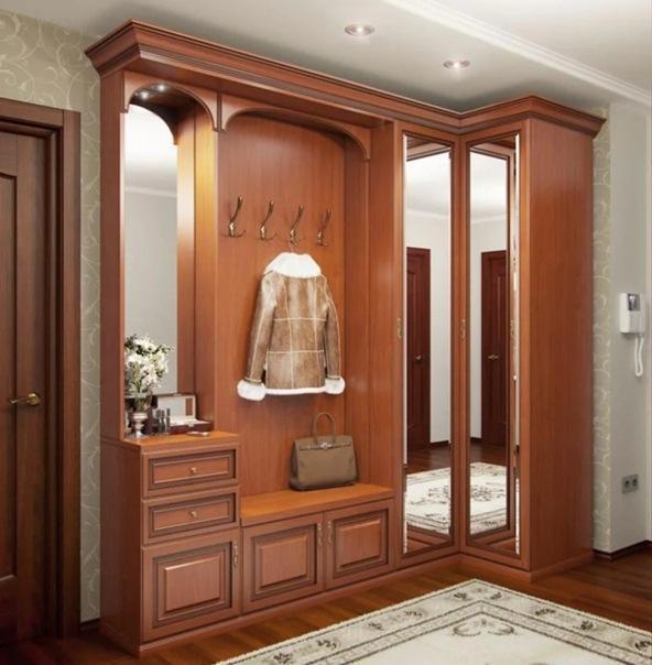 Современная мебель для прихожей. Выбор, дизайн, размещение. 18 рекомендаций
