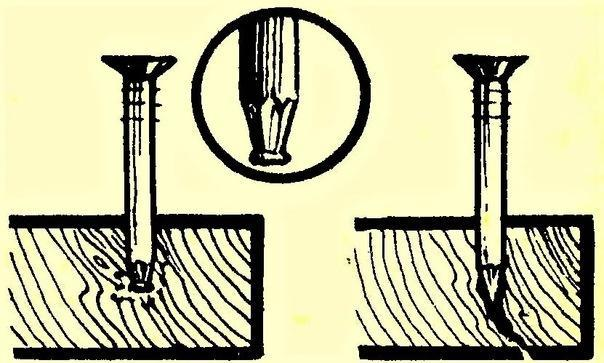 Как закрутить саморез или забить гвоздь в край доски, чтобы она не лопнула: 3 способа