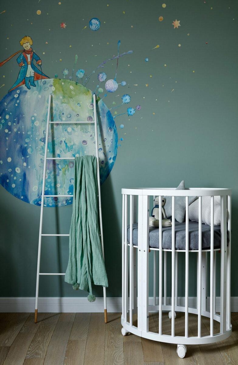 Как украсить пустую стену в детской комнате: 42 идеи с фото