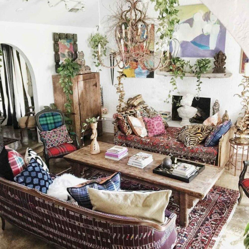 Никаких правил: создаем свой бохо в домашних условиях