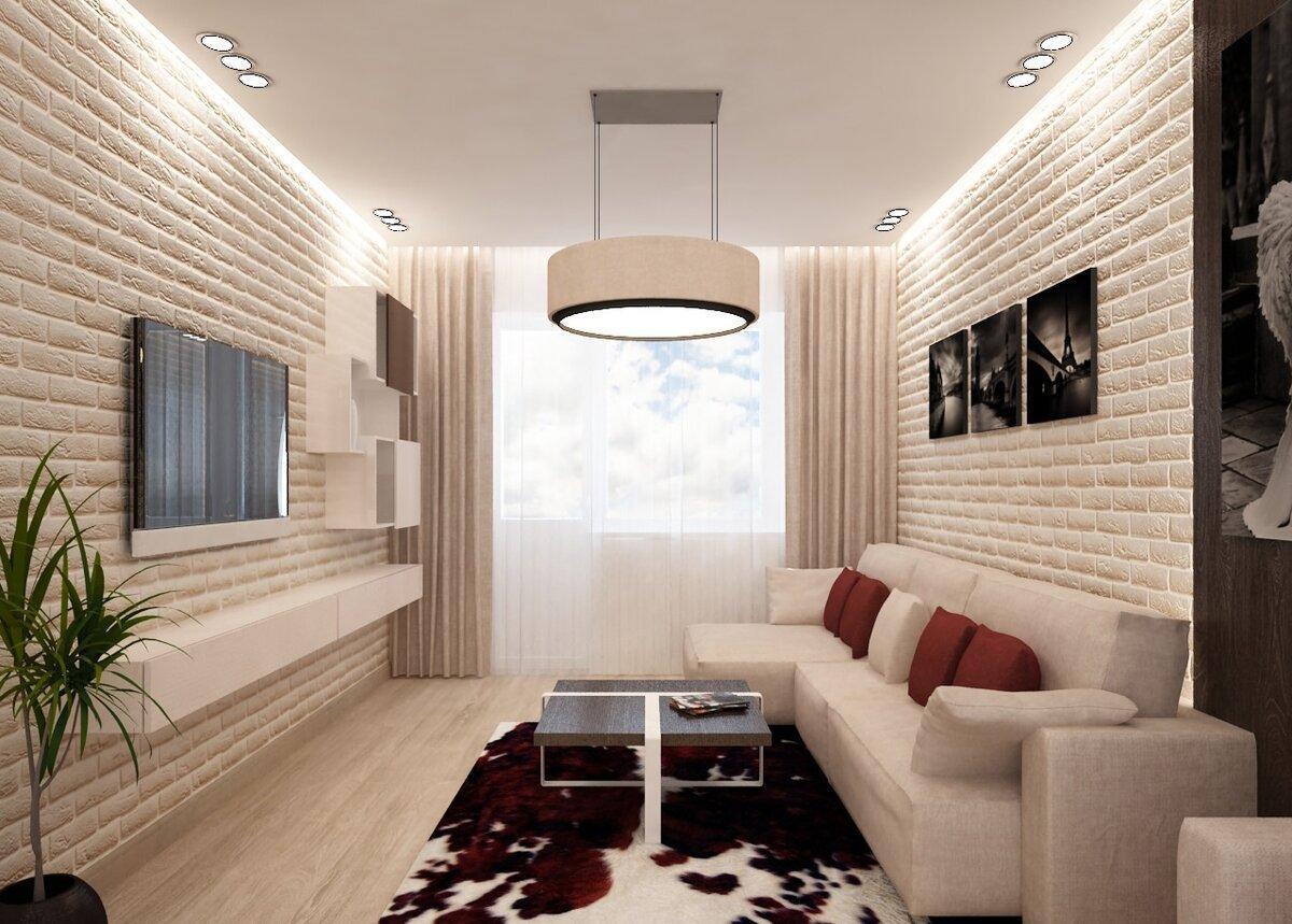 Идеи для маленькой гостиной