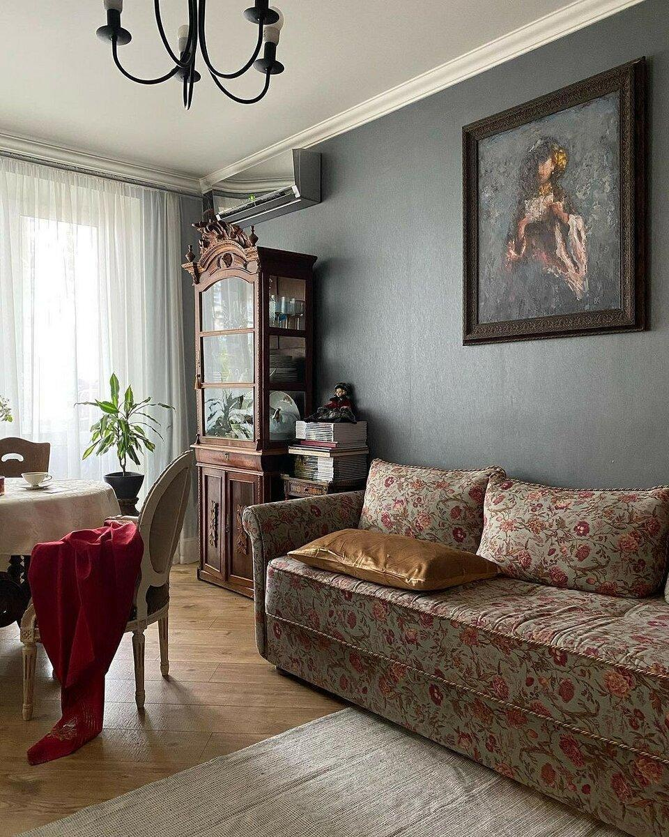 12 гостиных в хрущевках с замечательным дизайном
