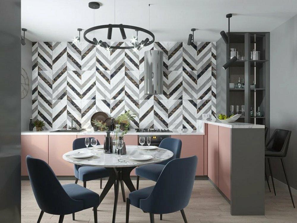 Двухцветный кухонный гарнитур: 5 лучших цветовых сочетаний