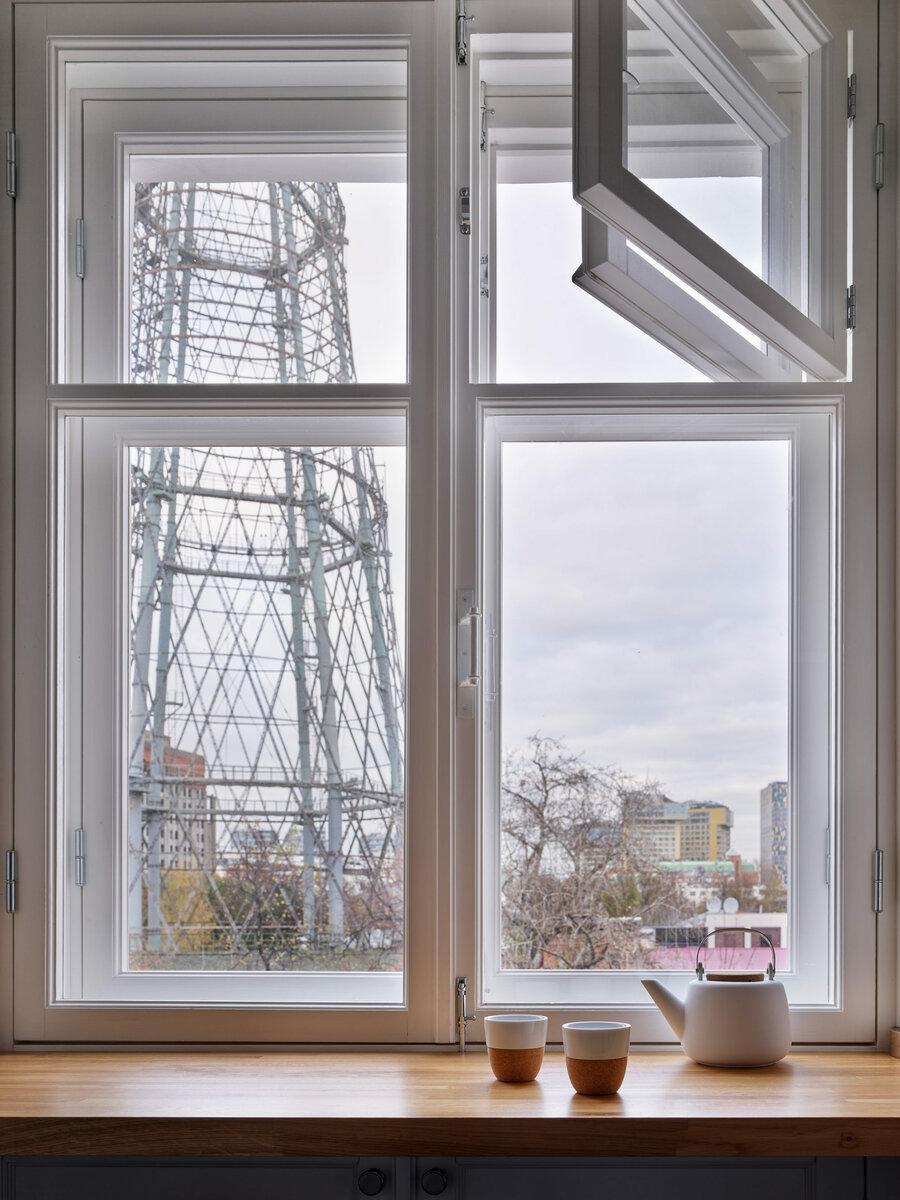 Квартира напротив Шуховской башни, 75 м²