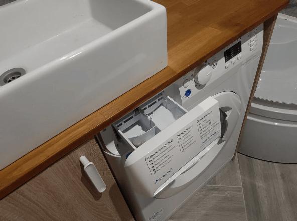 Стиральная машина под раковиной: удобно ли это