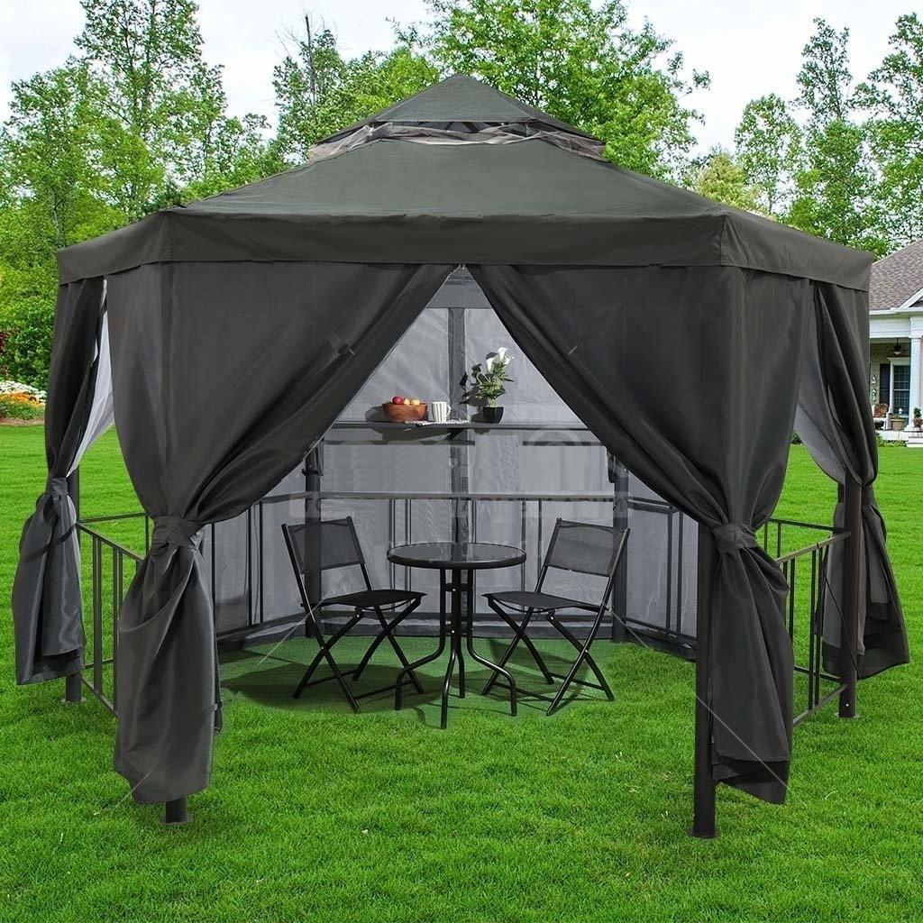 Садовые шатры и беседки: преимущества конструкций и особенности выбора