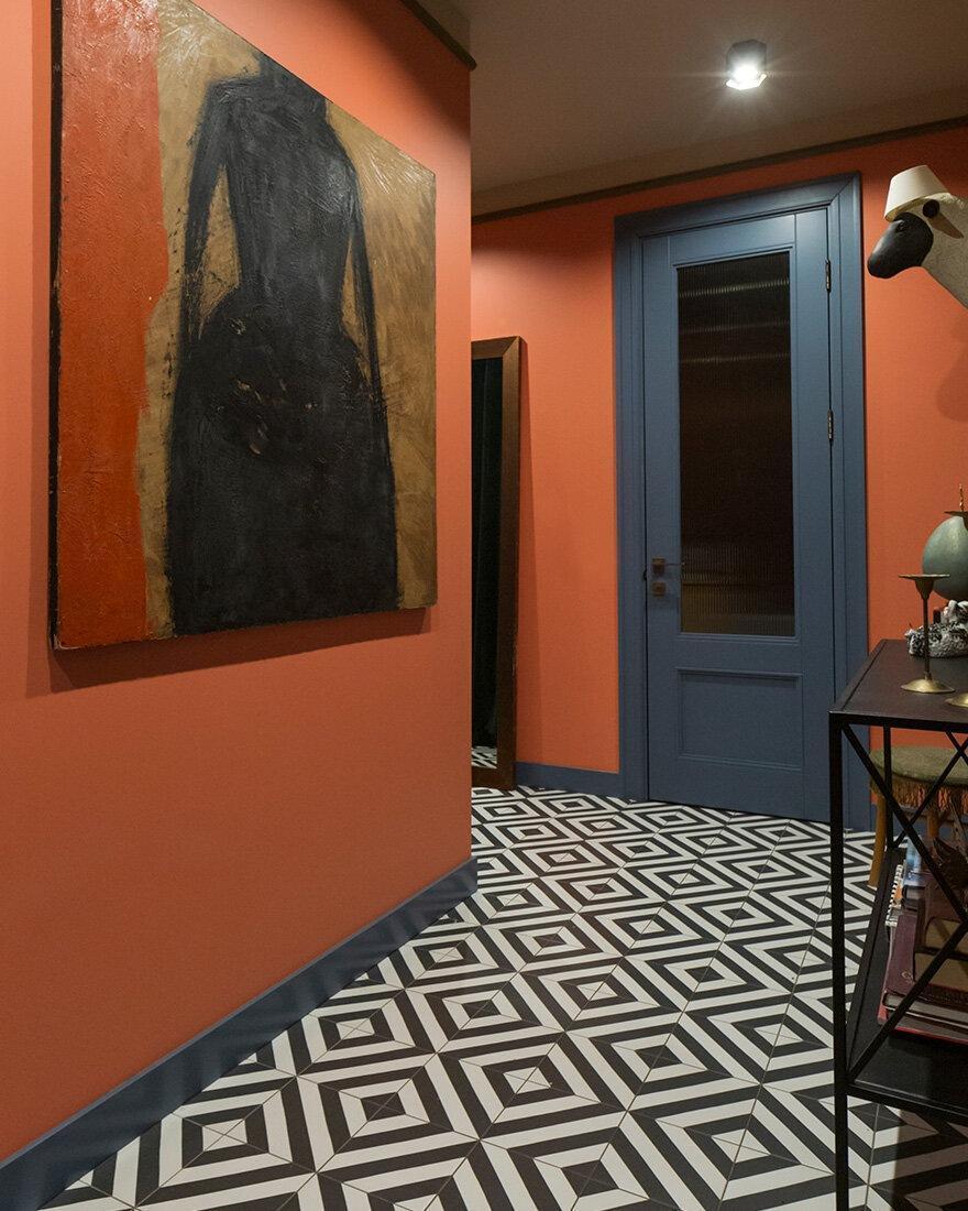 Цвет в интерьере: квартира дизайнера 48 м²