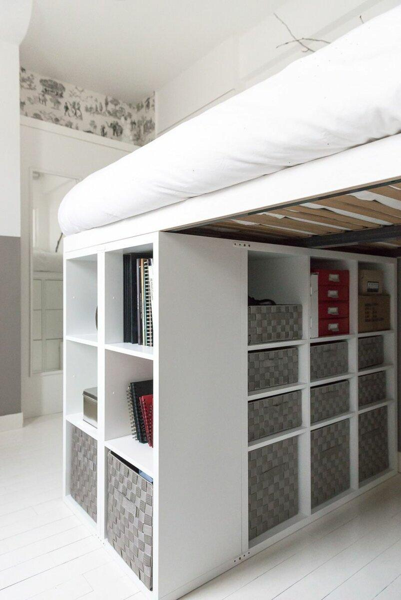 Функциональная кровать для маленькой квартиры: подборка идей