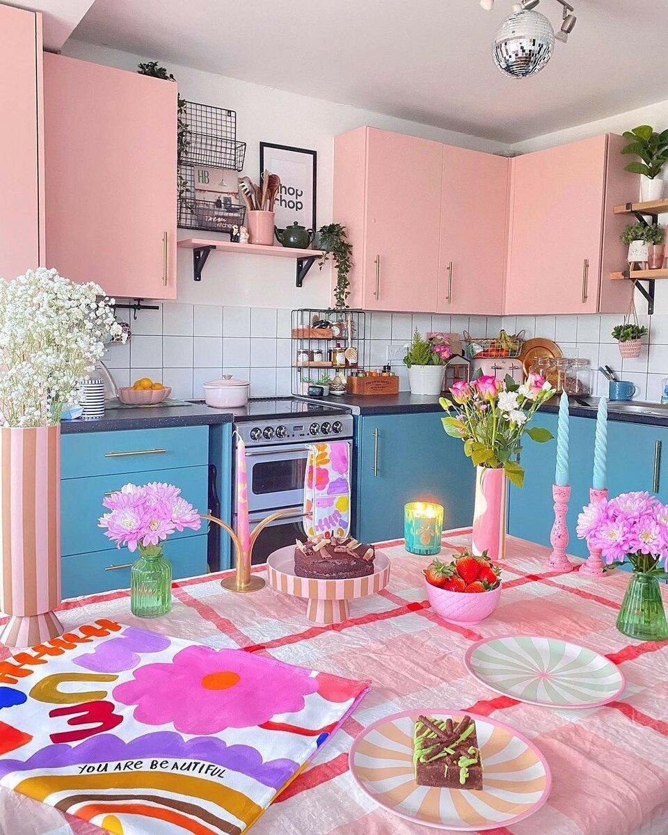 8 самых удачных и стильных цветовых сочетаний для вашей кухни