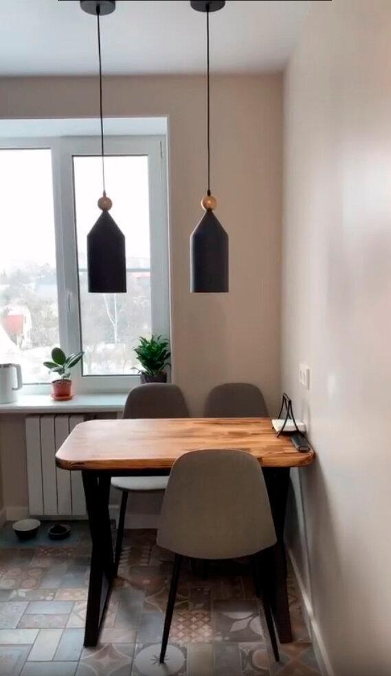Безумно качественно спланированная кухня на 6 квадратах: очередная мечта хозяйки!