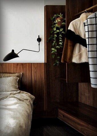 Незаменимый материал, без которого спальня будет уже не та! 5 «деревянных» идей