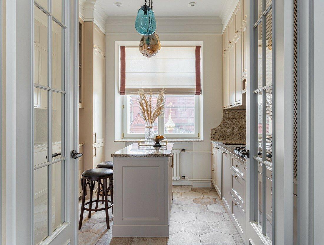 5 дизайнерских кухонь в старых домах, которые выглядят потрясающе
