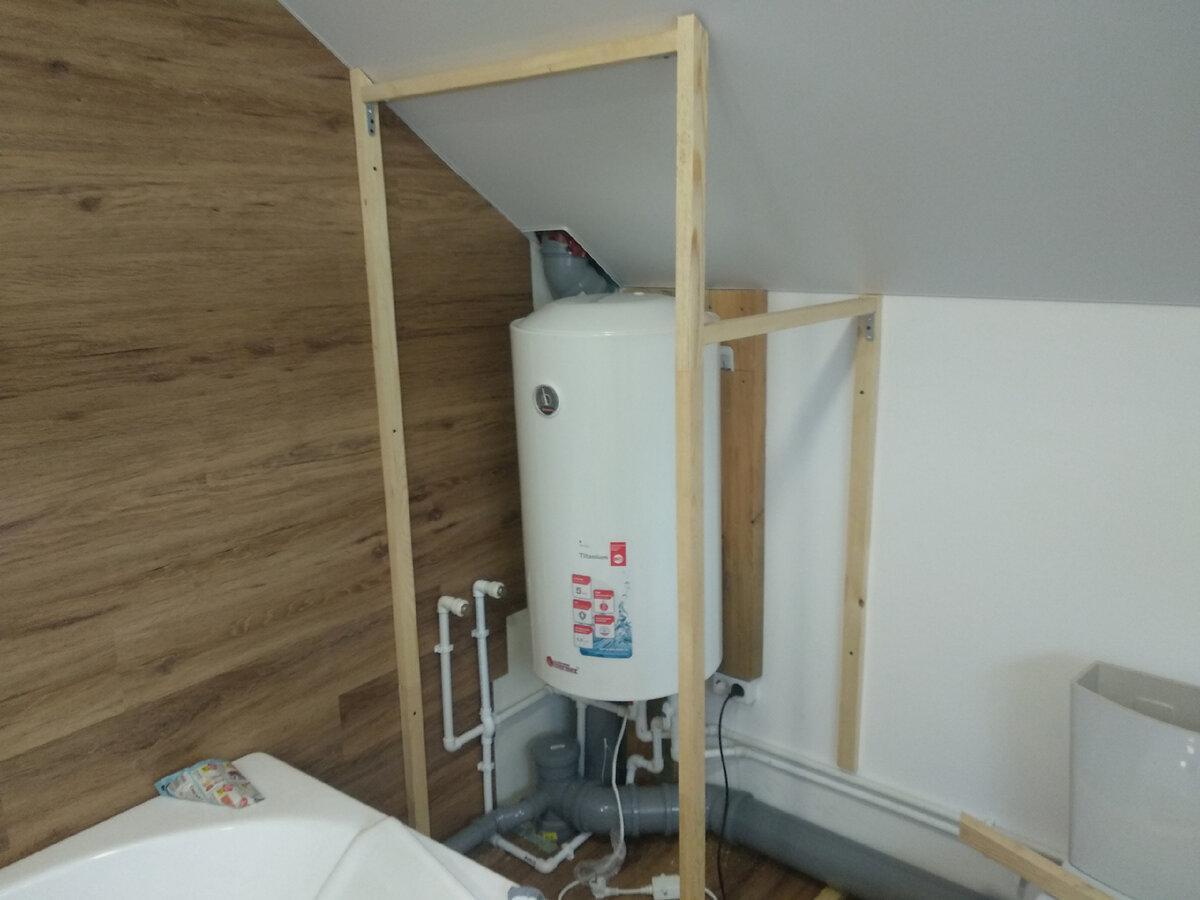 Наш способ установки смесителя (чтобы труб видно не было) без заранее проложенных труб в стенах.