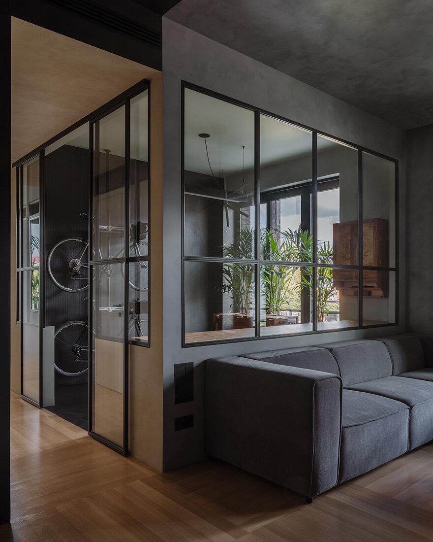 Квартира архитектора 70 м² в Москве