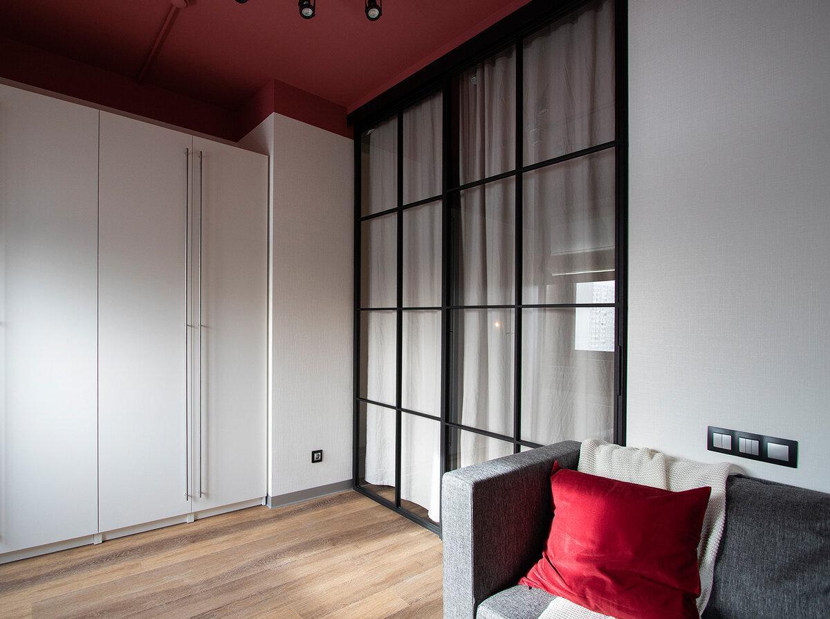 Цвет в интерьере: квартира 36 м²