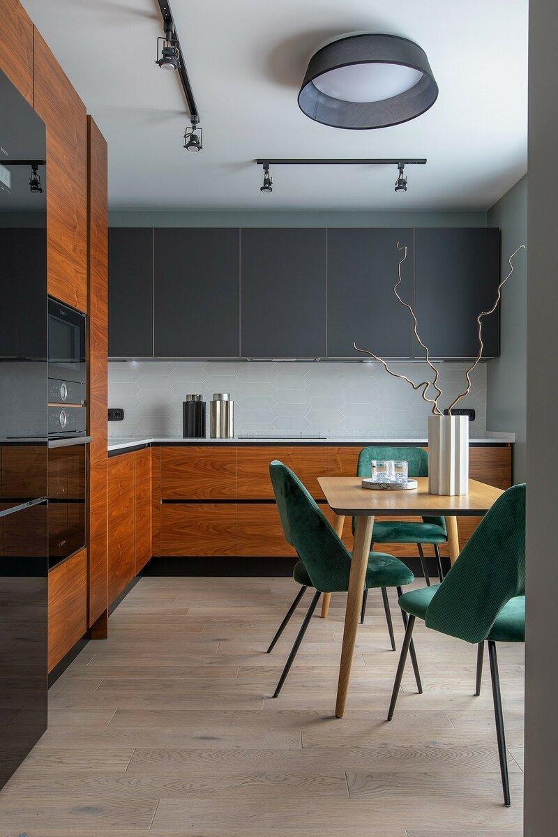 Подборка вдохновения: 8 красивых угловых кухонь от дизайнеров