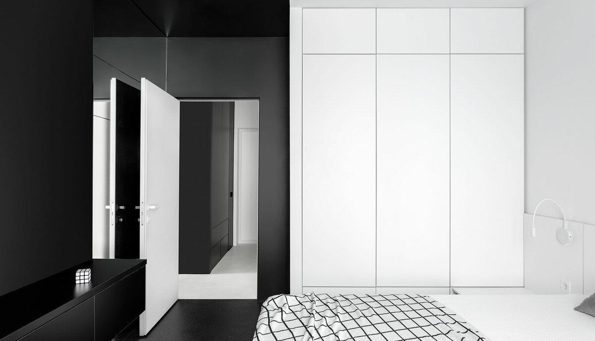 Квартира 50 м² с яркими акцентами