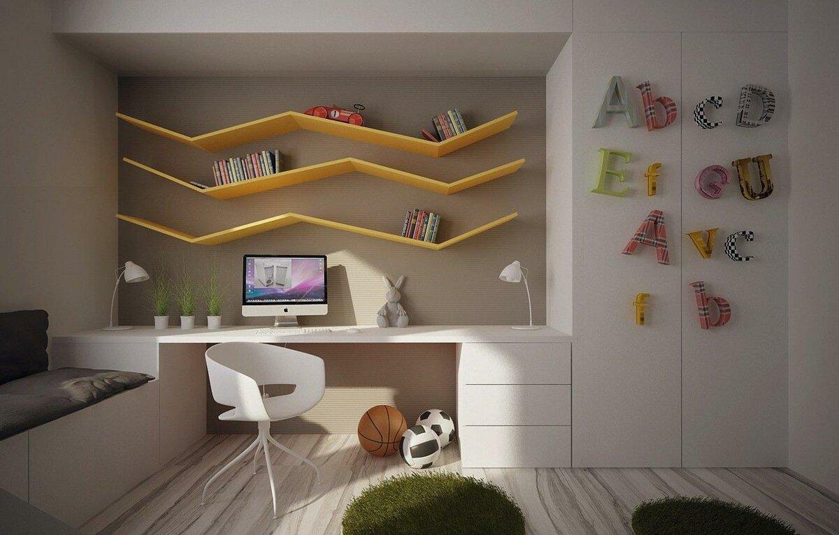 Интересные решения для детской комнаты