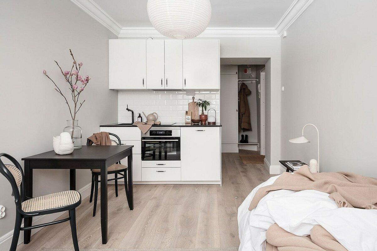 5 скандинавских квартир-малышек, в которых вы захотите жить