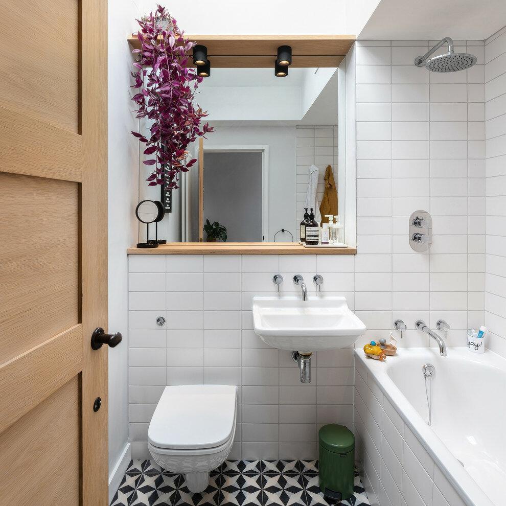 Несколько идей для маленькой ванной