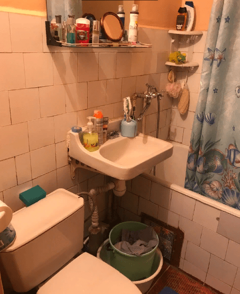 """Купили """"однушку"""" 32 м2 в старом доме и, сделали полный ремонт. До и после, цена, сроки."""