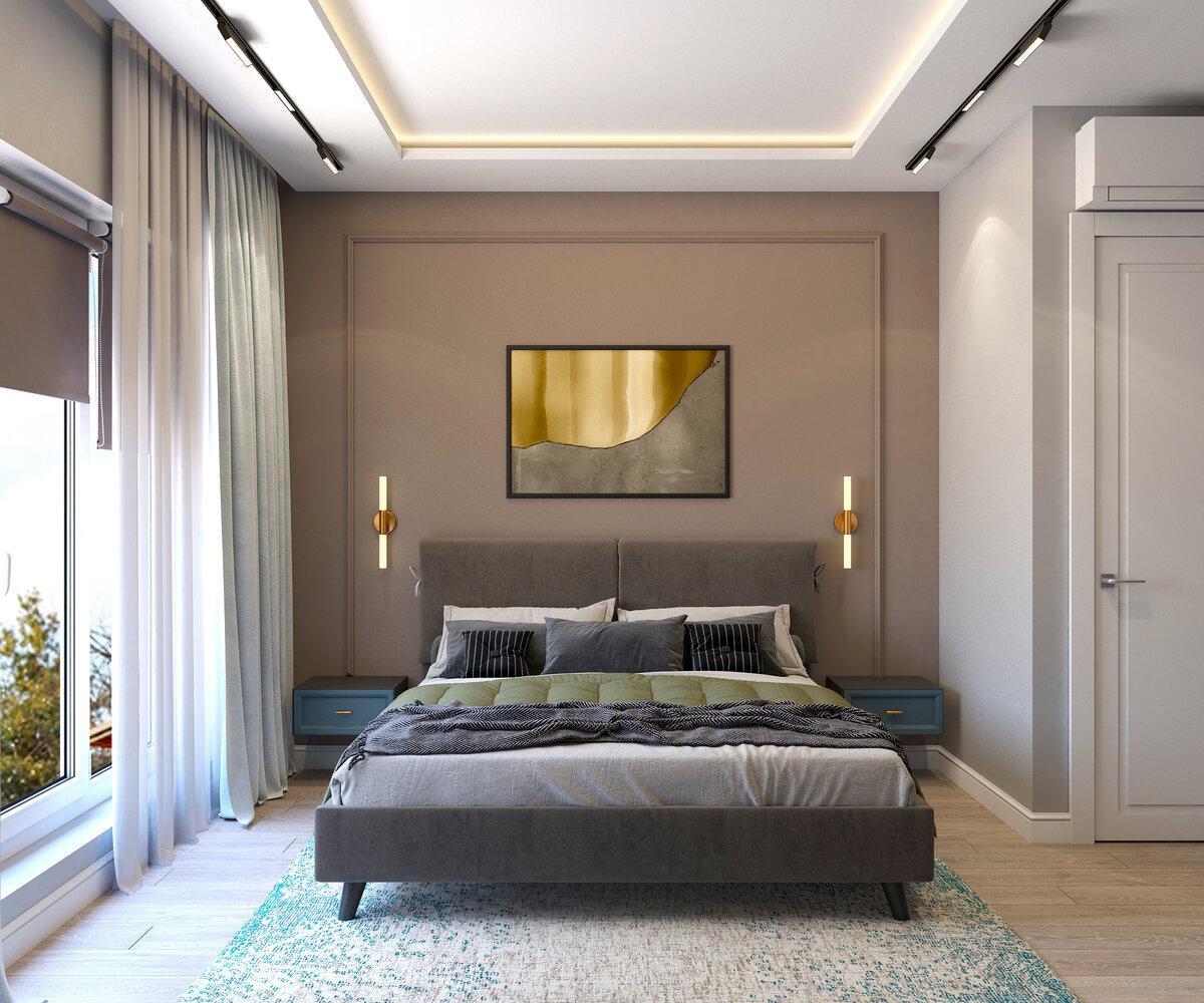 Выбираем идеальный цвет стен спальни! 3 подхода